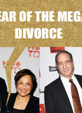 2016 – Year of the Mega Divorce