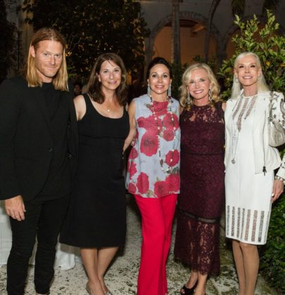 Galerie Magazine's James & Lisa Fayne Cohen and Philanthropist Sharon Bush Host Benefit Dinner for Cristo Rey Brooklyn High School