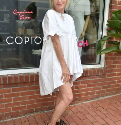 Lisa Jackson of LJ CROSS hosted a Rosé and Shopping Event at the new Copious Row Beach Boutique