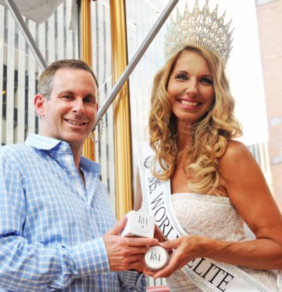 Haven Rooftop Hosts Celebration for Ms. World Elite 2017 Lidia Szczepanowski in conjunction with Launch of Dr. Kenneth Mark's New Tighten & Lighten Eye Cream