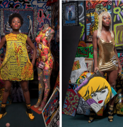 "Morphew Presents ""Which Comes First, the Art or the Fashion?""-A pop art inspired installation and store at Aqua Art Miami"
